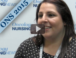 Erica Fischer-Cartlidge Discusses Oral Mucositis Treatment for Patients Taking an mTOR Inhibitor